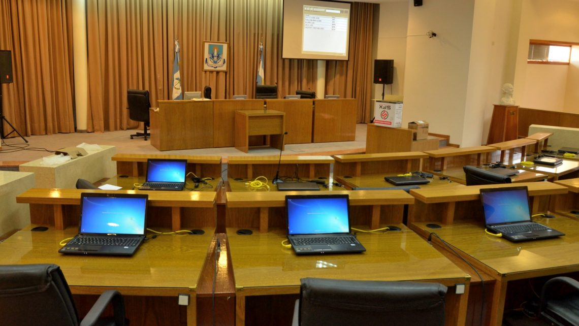 Sala de Sesiones del Concejo Deliberante